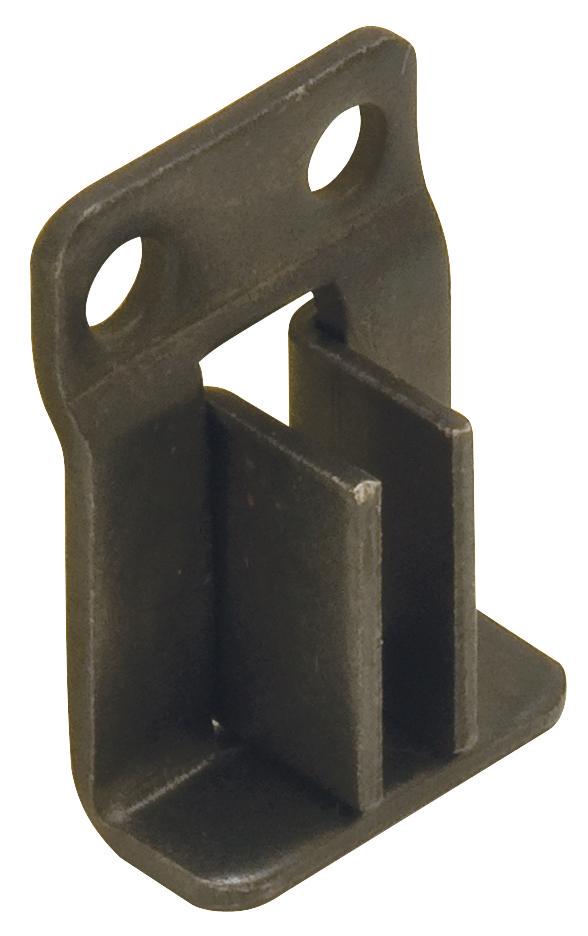 Hafele 424 31 300 Hanging File Bracket Flush Mount Black