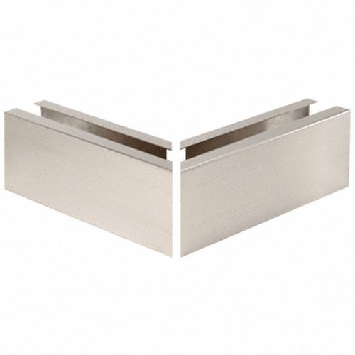 CRL B5A90BS Mitered 90 Degree Corner Cladding, Brushed Stainless