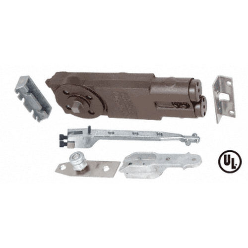 CRL 21101AP01 Jackson Non Hold-Open Overhead Concealed Closer with AP End-Load Hardware Package