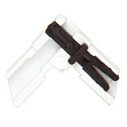 CRL PL16404 Slide Lock Square Plastic Screen Frame Corners