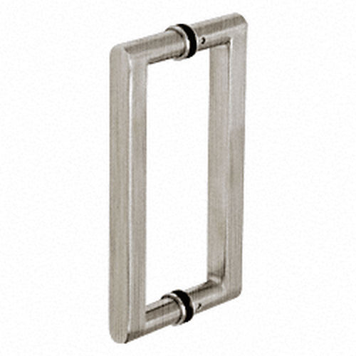 CRL SST10X10BS Glass Mounted Square BTB Pull Handle 10