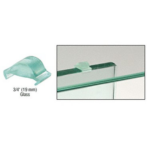 CRL TV34 Clear Heavy Glass Top Vinyl