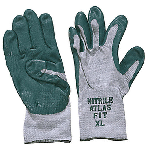 CRL 350XL Extra- Large Atlas Textured Nitrile Coated Gloves