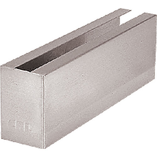 CRL B5LWCBS Welded End Cladding, Brushed Stainless