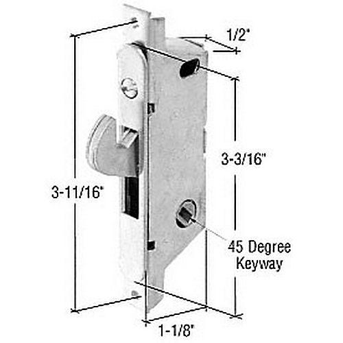 CRL Brass Key Cylinder Housing for C1174 E2680