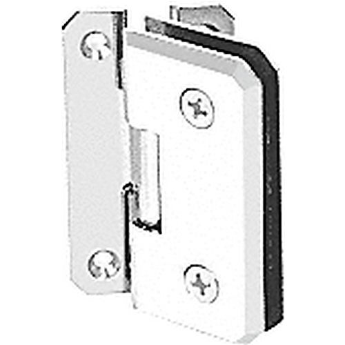 CRL M0N054WC Monaco 54 Series Wall Mount Offset Back Plate Hinge, White