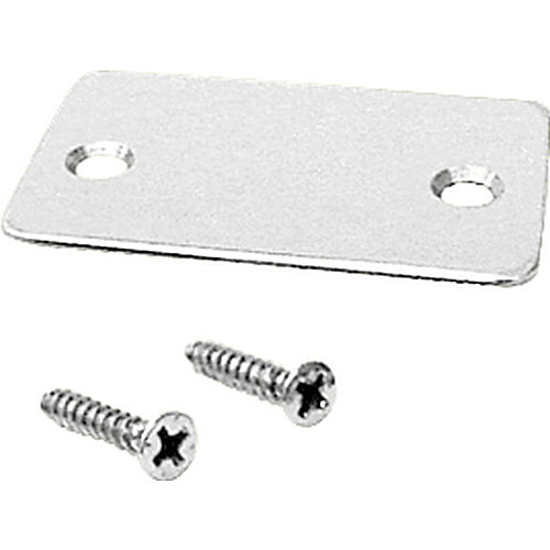 CRL SCECSA End Cap With Screws, Satin Anodized
