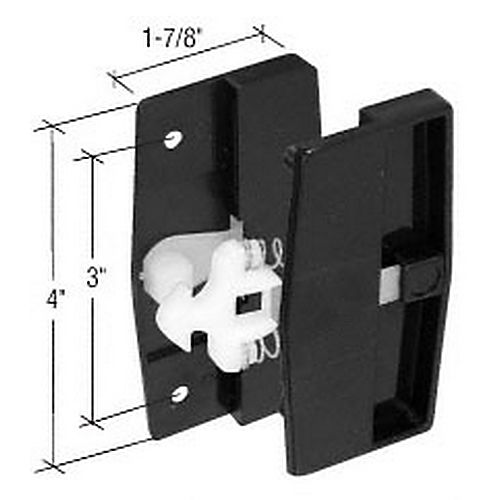 CRL A109 Sliding Screen Door Latch and Pull with 3