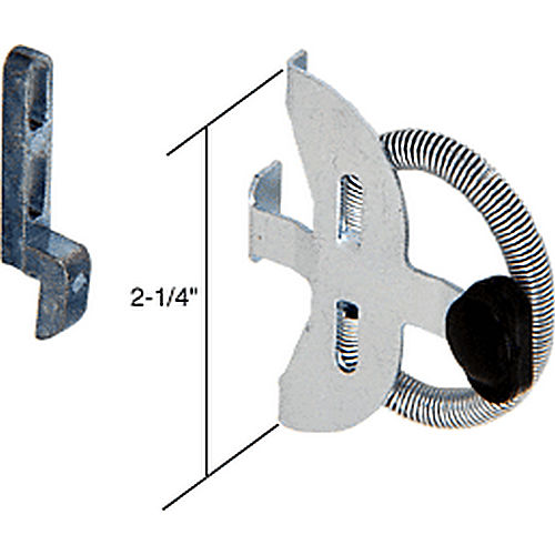 CRL A119 Sliding Screen Door Spring Activated Latch