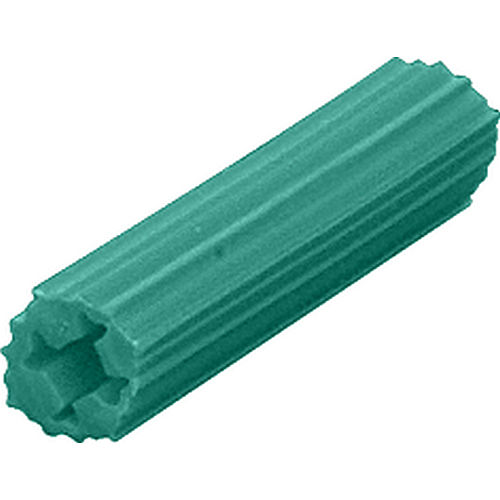 CRL EXP2006 Hole 1-41924 Screw Expanding Plastic Green Screw Anchors