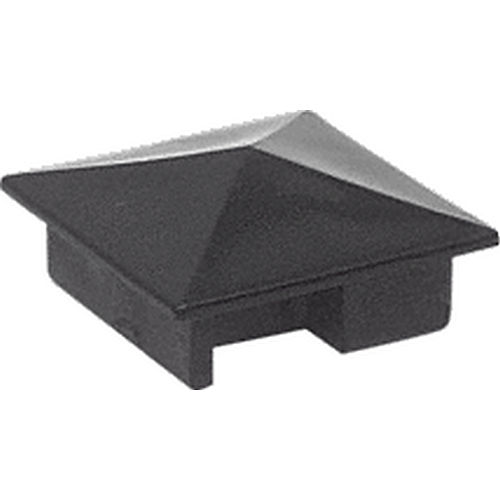 CRL 6406001 Counter Post Pyramid Top Cap for Sculptured Style Posts