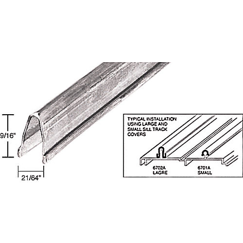 Crl 6702a8 Large Patio Door Sill Cover Thebuilderssupply Com