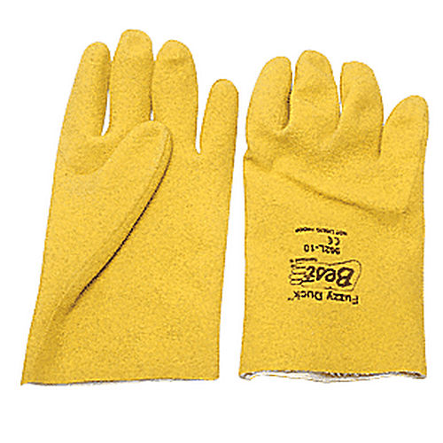 CRL 962FDL Large Fuzzy Duck PVC Gloves