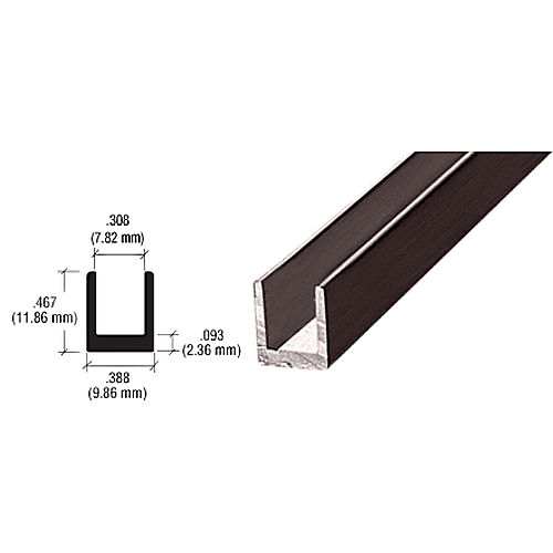CRL D631DU Single Channel, Duranodic Bronze