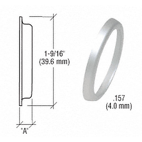 CRL DL2175AA Flared Cylinder Ring .157