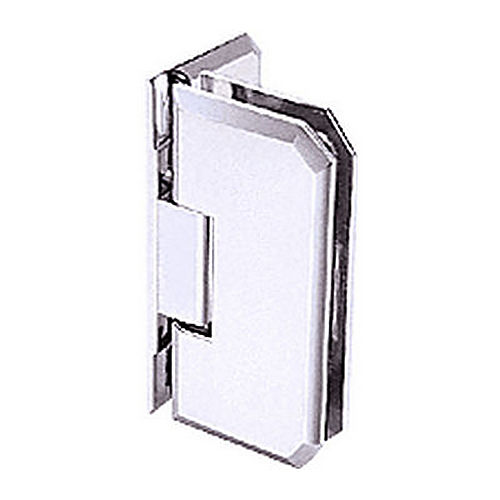 CRL M0N044CH Monaco 44 Series Wall Mount Offset Back Plate Hinge, Chrome