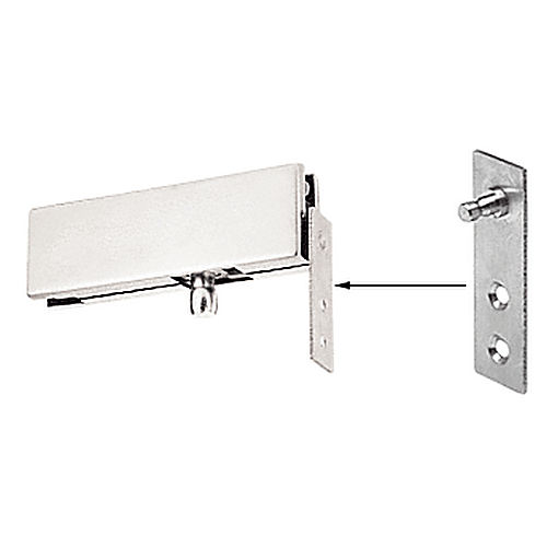 CRL 1NT340BS Transom Patch Wall Bracket