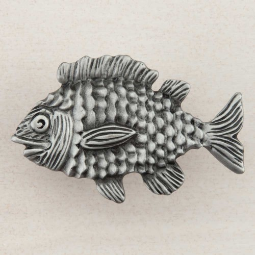 Acorn Dplpp Artisan Collection Knob Fun Fish 1 5 8 X 2 1 2