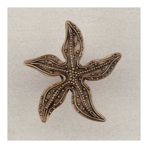 Acorn DPNGP Artisan Collection Knob Beaded Starfish 1-7/8