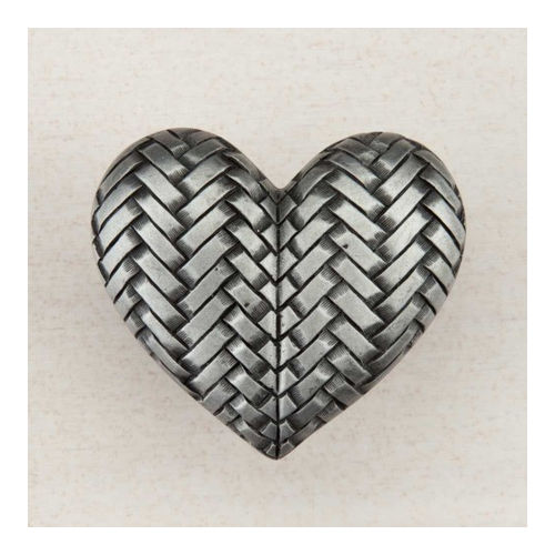 Acorn DQJPP Artisan Collection Knob Woven Heart 1-1/2