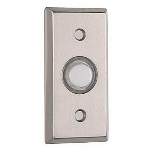 A'dor DB1 Door Bell - Rectangle, Flat Black
