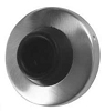 A'dor WS4.619 Wall Stop, Satin Nickel