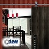 AHI SIG500 Barn Door System, Satin Stainless Steel