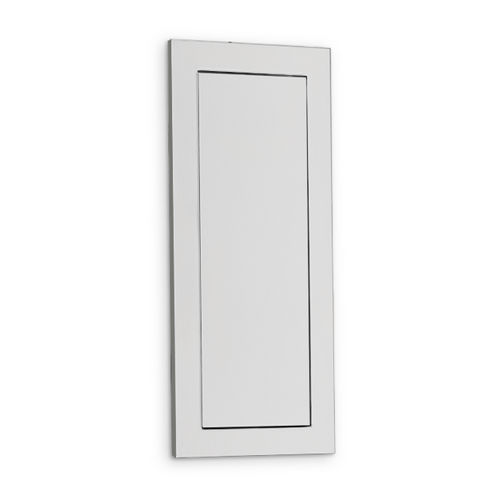 AJW U477 Push Panel Waste Door, Vanity Mounted