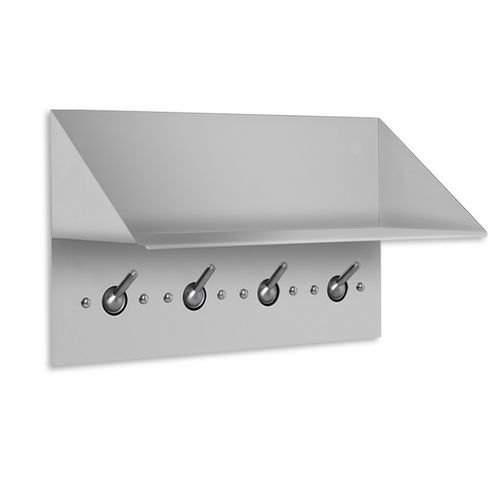AJW US51 Collapsable Security Hook Strip & Shelf 18