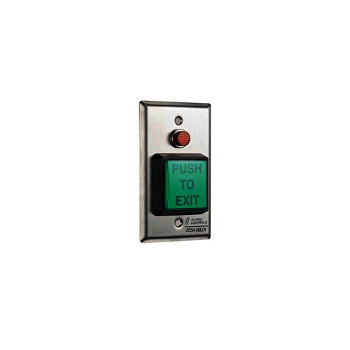 Alarm Controls TS-3-2 Push Button Illuminated Request To Exit 1/2