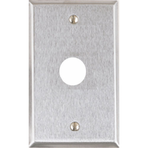 Alarm Controls RP-23SLIMLINE Stainless Steel Slimline Plate with Piezo Alert Hole