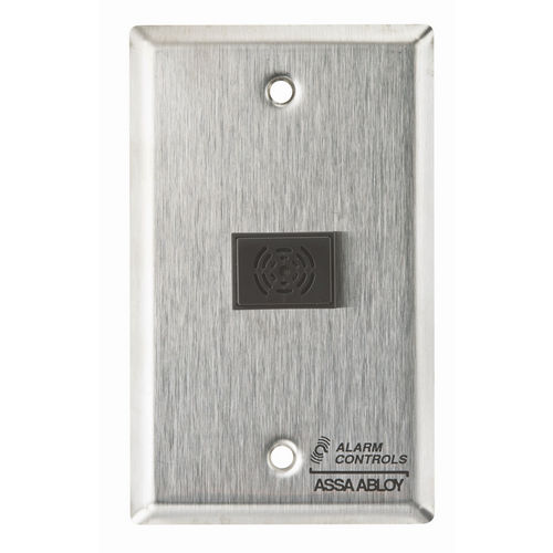 Alarm Controls TS-42 La32 3 Tone Buzzer Mounted On, Single Gang Stainless Steel Plate