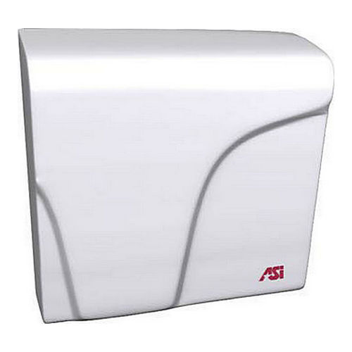 ASI 0165 Profile Compact Dryer, Surface Mounted, White