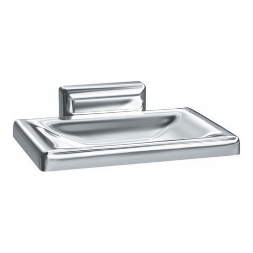 ASI 0721-Z Soap Dish, Surface Mounted, Chrome Plated Zamak