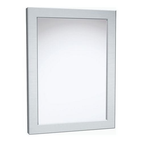 ASI 101-14 Framed Mirror, Mirror Polished, Chase Mount, 12