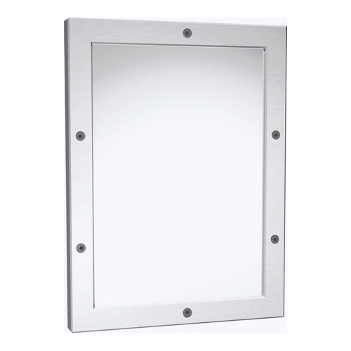 ASI 105-14 Framed Mirror, Mirror Polished, Front Mount, 12