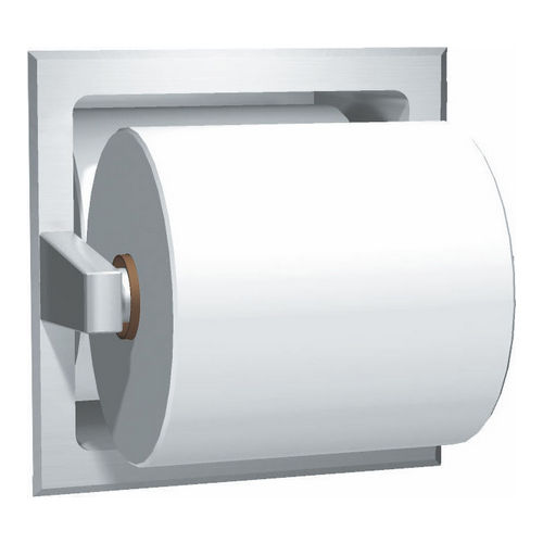 ASI 7403-B Spare Roll Toilet Tissue Holder, Recessed, Bright
