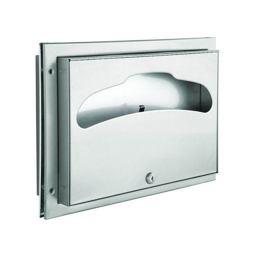 Bradley 582-000000 Seat Cover Dispenser, Partition Mountd