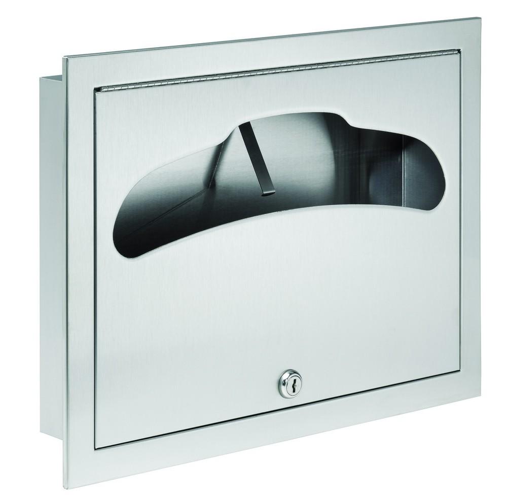 Brilliant Bradley 584 000000 Seat Cover Dispenser Recessed Thebuilderssupply Com Ncnpc Chair Design For Home Ncnpcorg