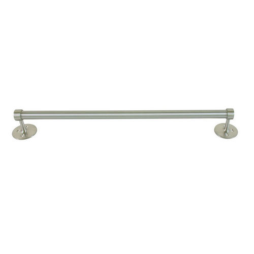 Bradley 908-120000 Towel Bar, Satin Stainless, Surface Mount
