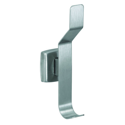 Bradley 9134-000000 Hat & Coat Hook, Satin Stainless, Surface