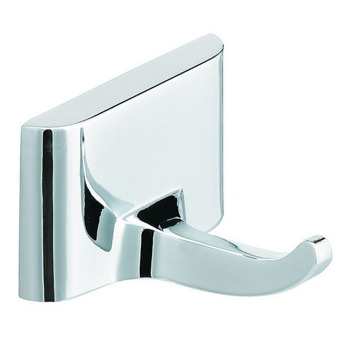 Bradley 931-000000 Robe Hook, Single, Chrome Plated