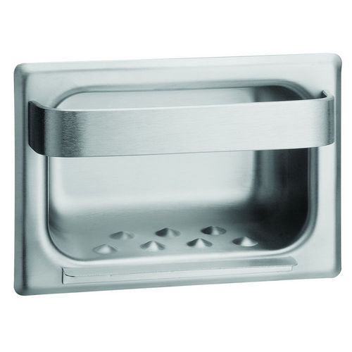 Bradley 940-000000 Soap Dish, Towel Bar, Recessed