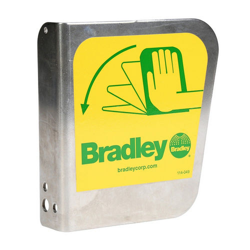Bradley S08-336 Stainless Eyewash Handle/Label Assembly