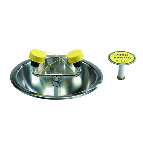Bradley S19-260 Safety Eye/Facewash, Deck Mount