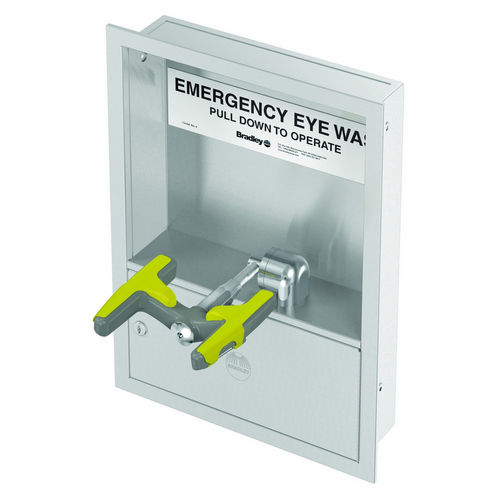 Bradley S19284J Safety Eye/Facewash, Cabinet Mount