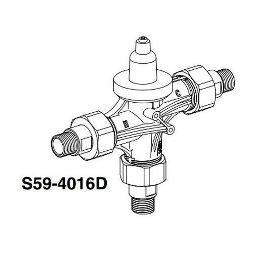 Bradley S59-4016D Thermostatic POU Valve 15 GPM