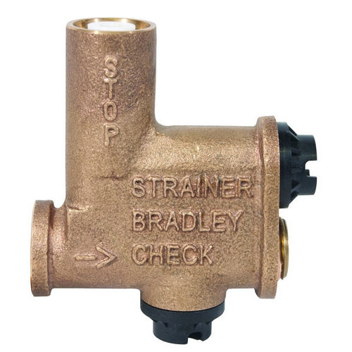 Bradley S60-003 Stop-Strainer and Check Valve