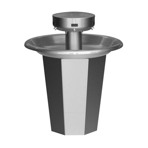 Bradley S93-637 Washfountain Sentry Stainless 36