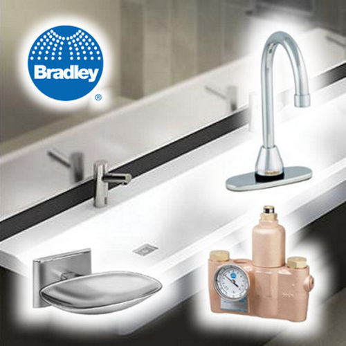 Bradley S19-2350P Thermostatic Valve Safety 73 GPM
